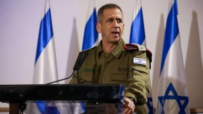 اسرائیلی آرمی چیف کی ایران پرحملے کی دھمکی