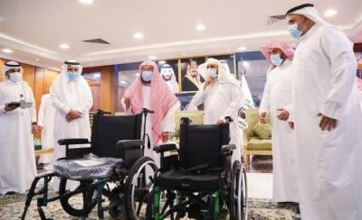 مسجد الحرام میں معذوروں کے لیے نئی الیکٹرانک ویل چیئرز فراہم