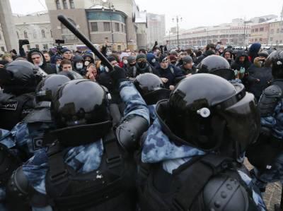 روس میں اپوزیشن رہنما کی رہائی کے لئے مظاہرہ، ہزاروں افراد گرفتار