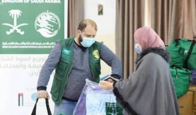 شاہ سلمان مرکز کی اردن میں امدادی سرگرمیاں