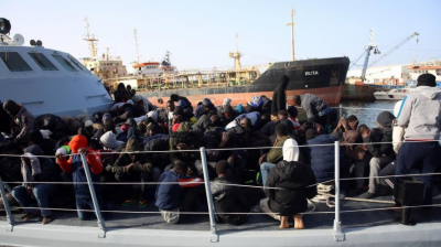 لیبیا کے ساحل سے 200سے زائدغیر قانونی تارکین وطن کو بچا لیا گیا