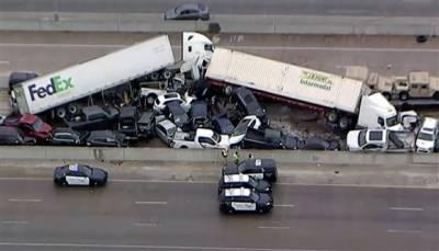 امریکہ میں خوفناک حادثہ ، 130سے زائد گاڑیاں آپس میں ٹکرا گئیں9,افراد ہلاک