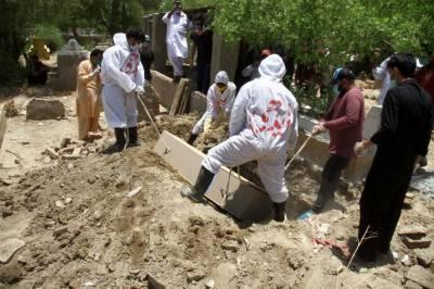 کورونا وائرس سے 58 افراد جاں بحق , 1262 نئے مریض