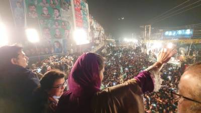 سینیٹ الیکشن میں ایک بھی سیٹ نہ ملے مگر اب عمران خان سے بات صرف فیض آباد جاکر ہوگی:مریم نواز