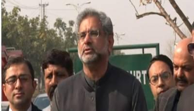 ڈسکہ : پولیس نے ووٹرز کو ہراساں کیا:شاہد خاقان عباسی