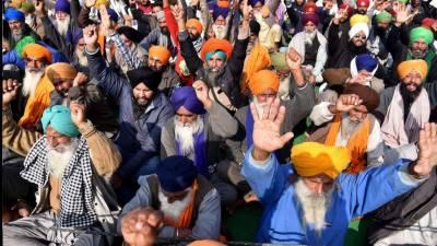 بھارتی کسانوں کا 27 فروری کو نئی دہلی کے قریب بڑے مظاہرے کا اعلان