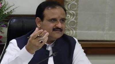 وزیر اعلی پنجاب سردار عثمان بزدار سے چیئرمین لاہور ویسٹ مینجمنٹ کمپنی ملک امجد علی نون کی ملاقات