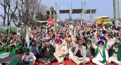 کسانوں کا احتجاج بھارتی سرکار کے لیے گلے کی ہڈی ،40لاکھ ٹریکٹرز سے پارلیمنٹ کے گھیرا کا عندیہ