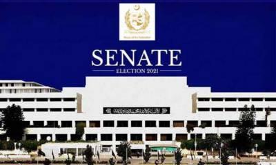 سینیٹ کی 37 خالی نشستوں پر انتخابات آج ہوں گے