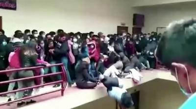 بولیویا کی یونیورسٹی میں حادثہ، بالکونی سے گرنے کے بعد 7 طالبعلم ہلاک اور 3 زخمی