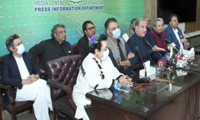 الیکشن کمیشن نےوزرا کی پریس کانفرنس کا نوٹس لے لیا