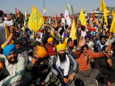 بھارتی کسانوں کے احتجاج کو 100 دن مکمل،آج اہم شاہراہیں بند کرنے کا اعلان