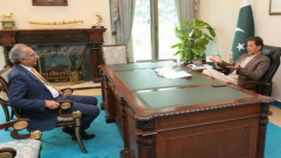 وزیراعظم عمران خان کی عبدالحفیظ شیخ کو کام جاری رکھنے کی ہدایت