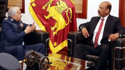 سربراہ پاک فضائیہ اور سری لنکا کے سیکرٹری دفاع کے درمیان ملاقات, باہمی تعاون بالخصوص تربیت اور پیشہ ورانہ مہارت کے شعبوں کو فروغ دینے پر اتفاق