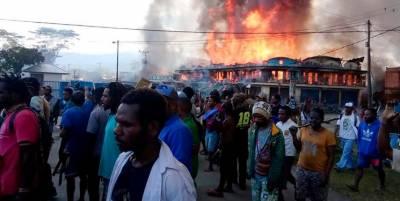 مغربی افریقی ریاست استوائی گنی میں زور دار دھماکے اور آتشزدگی سے 15افراد ہلاک