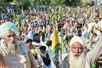 بھارتی کسانوں کا26 مارچ کو 'بھارت بند' کرنے کا اعلان