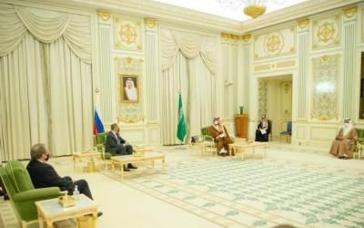 سعودی ولی عہد سے روسی وزیر خارجہ کی ملاقات