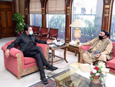 وزیر اعظم سے وزیر داخلہ شیخ رشید کی ملاقات