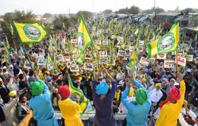 بھارتی کسانوں کا احتجاج جاری ، امریکی پارلیمانی رپورٹ میں تشویش کا اظہار