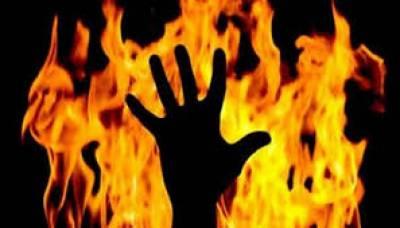 بھارت میں پودا اکھاڑنے پر ایک شخص نے پڑوسی بچی کو زندہ جلا دیا
