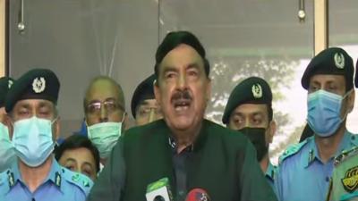 اسلام آباد پولیس کو مثالی پولیس بنائیں گے ، شیخ رشید احمد
