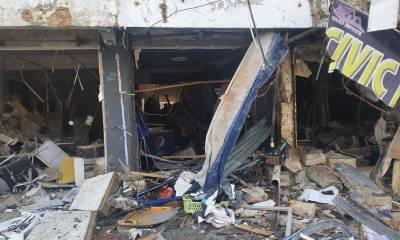 کراچی: پیزا کی دکان میں گیس سلنڈر دھماکہ، خاتون،2 بچے جاں بحق