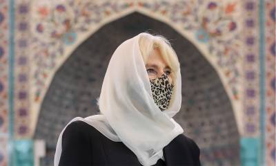 شہزادہ چارلس کی اہلیہ کمیلا پارکر کا لندن میں مسجد کا دورہ