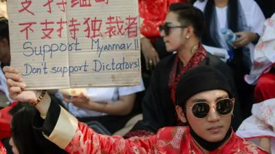 میانمارفوجی حکومت پر تنقید کرنے پر مشہور شخصیت پینگ تاخون گرفتار