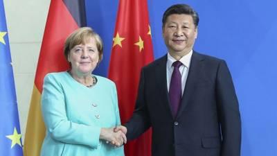 چینی صدر کی جرمن چانسلرسے ٹیلیفونک بات چیت