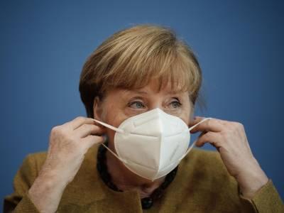 جرمن چانسلر کی مزید لاک ڈان کی حمایت