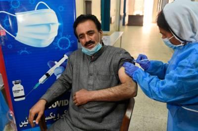 پاکستان میں نوول کرونا وائرس ویکسینیشن جاری