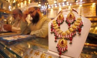 سونے کی قیمت میں ایک سو روپے کا اضافہ