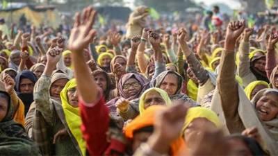 بھارت میں کسانوں کا احتجاج جاری، مرکزی شاہراہ بند کرنے کا اعلان