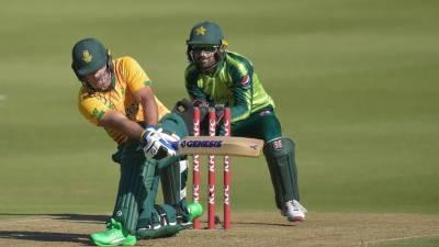 جنوبی افریقا نے دوسرے ٹی ٹوئنٹی میچ میں پاکستان کو شکست دیدی