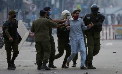 تحریک لبیک احتجاج 'پنجاب میں پیراملٹری فورسز طلب