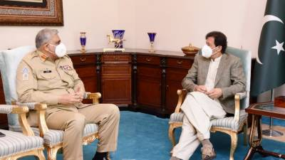 وزیراعظم اور آرمی چیف کی ملاقات، ملکی سیکورٹی صورتحال پر گفتگو