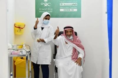 66 لاکھ 24 ہزار افراد نے کورونا ویکسین لگوا لی ہے، سعودی وزارت صحت