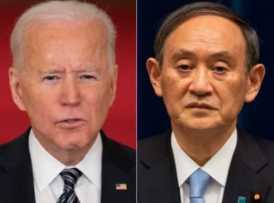 جاپانی وزیراعظم امریکا کے دورے پر،صدرجوبائیڈن سے ملاقات کریں گے