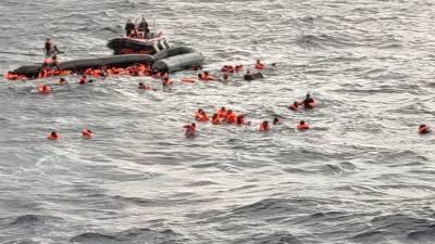 بحیرہ روم میں کشتی ڈوبنے سے کم از کم 41 تارکین وطن ہلاک