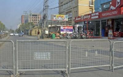 راولپنڈی کے 10مقامات پر 27 اپریل تک اسمارٹ لاک ڈاؤن نافذ