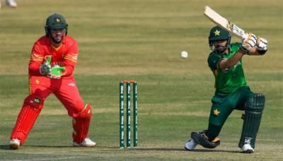 پاکستان اور زمبابوے کے درمیان پہلا ٹی -20 انٹرنیشنل کرکٹ میچ بدھ کو کھیلا جائے گا