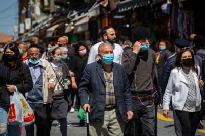 اسرائیل میں گھرسے باہر لازمی ماسک پہننے کی پابندی ختم