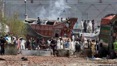 حکومت ،ٹی ایل پی کے مابین مذاکرات ، لاہور میں انٹرنیٹ سروسز بحال