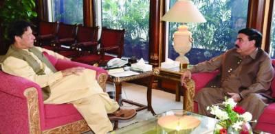 وزیراعظم سے شیخ رشید کی ملاقات, تحریک لبیک کے ساتھ کامیاب مذاکرات پر مبارکباد پیش