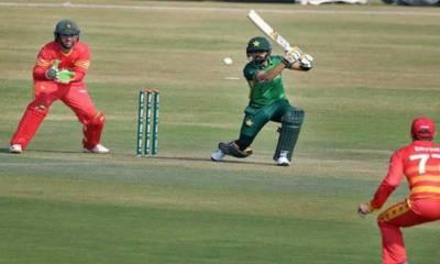 پاکستان اور زمبابوے کے درمیان پہلا ٹی20آج کھیلا جائے گا