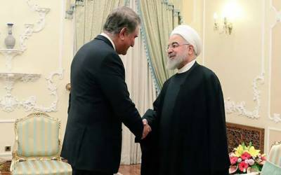 وزیر خارجہ آج ایرانی صدرحسن روحانی سے ملاقات کریں گے