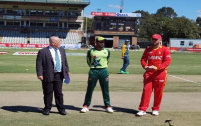 پاکستان کا زمبابوے کے خلاف ٹاس جیت کر فیلڈنگ کا فیصلہ