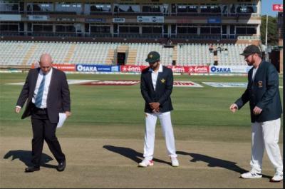 زمبابوے کا پاکستان کیخلاف ٹاس جیت کر پہلے بیٹنگ کا فیصلہ