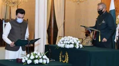 ''فرخ حبیب ''نے وزیر مملکت برائے اطلاعات و نشریات کاحلف اٹھالیا
