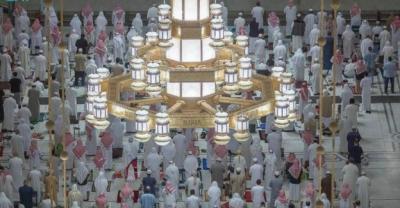 مسجد الحرام کو روشن رکھنے کے لیے ایک لاکھ 20 ہزار لائٹس کا استعمال